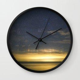 Spring Skies over Presqu'ile Wall Clock