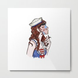 dreaming a kiss Metal Print
