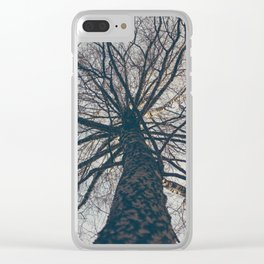 Shield of tree Clear iPhone Case