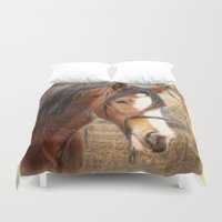home sweet home Duvet Covers featuring Home Sweet Home by Trudi Simmonds