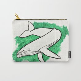 Humpback Whale in Turquoise Water Carry-All Pouch