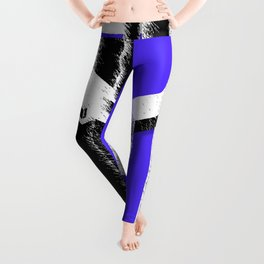 Abstract construction Leggings