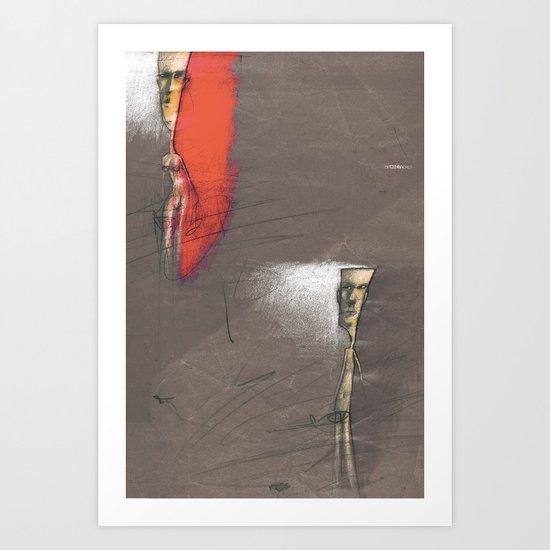 couple... Art Print