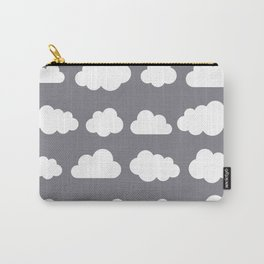 Grey clouds on grey winter skies Carry-All Pouch