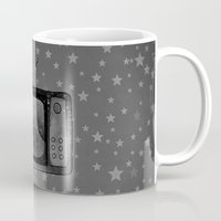 tv Mugs featuring Television by Mr and Mrs Quirynen