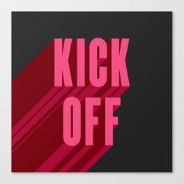 Kick Off Your Shoes 1 Canvas Print