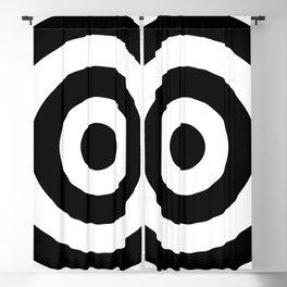 Target (Black & White Pattern) Blackout Curtain