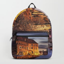 Gorgeous Gracious Fairytale Castle Europe UHD Backpack