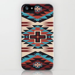 American Native Pattern No. 67 iPhone Case
