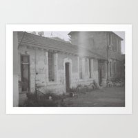 Famagusta car pashima Art Print
