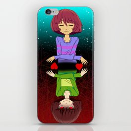 Undertale mercy or fight iPhone Skin