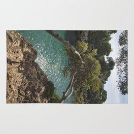 Tranquil Bay at Mallorca Island Rug