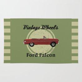 Vintage Wheels - Ford Falcon Rug