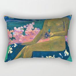 Paul Gauguin - The Seed Of The Areoi - Digital Remastered Edition Rectangular Pillow