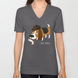 I Nose Things Unisex V-Neck