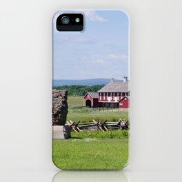 Barn on the Battlefield iPhone Case