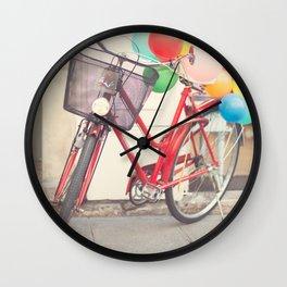 Paris Bicycle Wall Clock