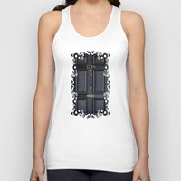 kindle Tank Tops featuring Classic Old sherlock holmes 221b door iPhone 4 4s 5 5c, ipod, ipad, tshirt, mugs and pillow case by Three Second