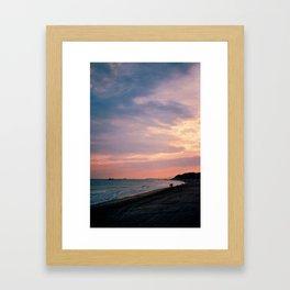 Altafulla Beach Framed Art Print
