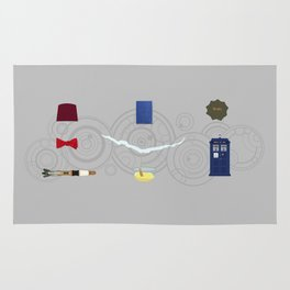 Eleven (Doctor Who) Rug