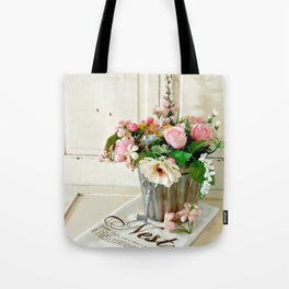 Flowers on Display Tote Bag
