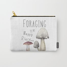Foraging for mushrooms Carry-All Pouch