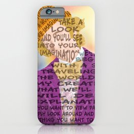 Pure Imagination iPhone Case