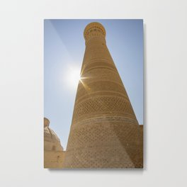Tower of Death Metal Print