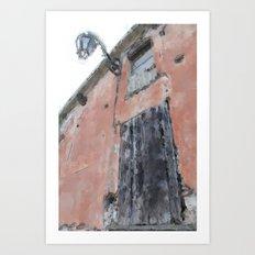 Earth tones in Italy Art Print