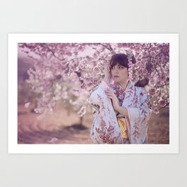 """春 """"Haru"""" Art Print"""