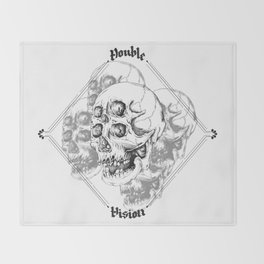 Double Vision Throw Blanket
