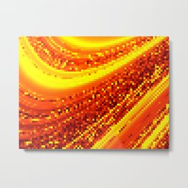 square field on Metal Print