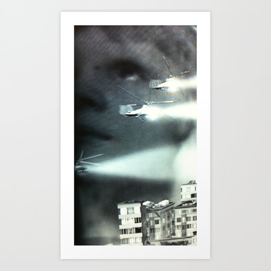 Is this the future I was promised? Art Print