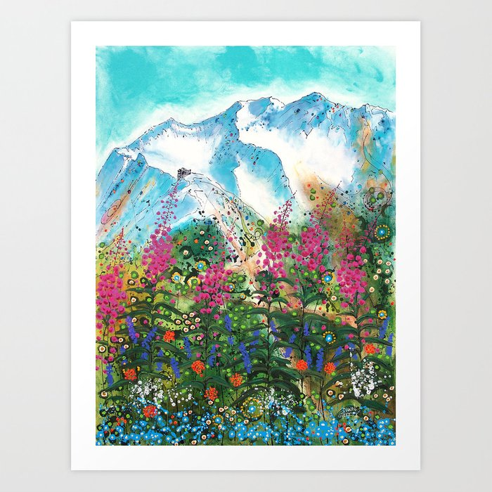 Alyeska Best of Both Art Print