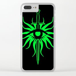 The Inquisition Clear iPhone Case