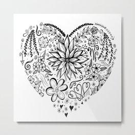 Heart allusion Metal Print