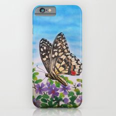 Chequered swallowtail  Slim Case iPhone 6s