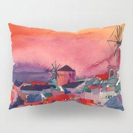 Sunset on Santorini Pillow Sham