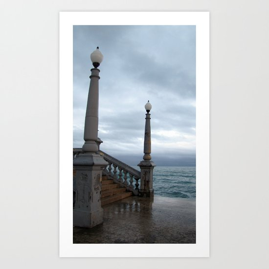 """untitled (Sitges) """"A SAFE PLACE"""" series Art Print"""