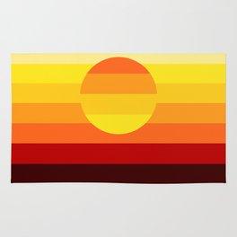 Sunset Stripe Rug
