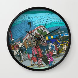 Midway Magic - The Calgary Stampede Wall Clock