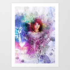 Spriggan Art Print