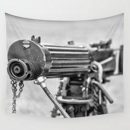 Vickers Machine Gun Wall Tapestry