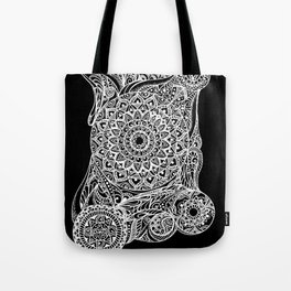 Mandala of deep meditation Tote Bag