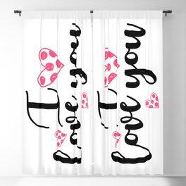 Te quiero Blackout Curtain