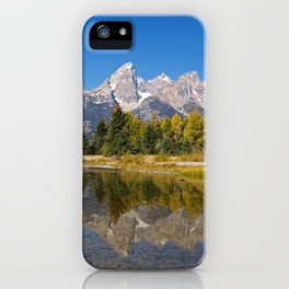 The Snake River and the Tetons iPhone Case