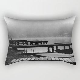Mason Lake: Beach Front Rectangular Pillow