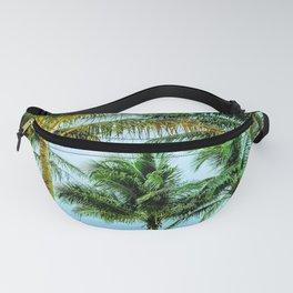 Pompano Beach, FL palm trees Fanny Pack