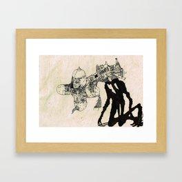 The Specter of Boredom Framed Art Print