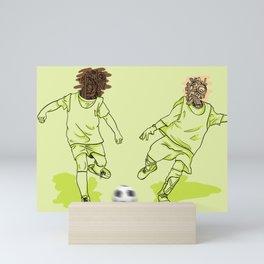 Var I Nation - Soccer Mini Art Print